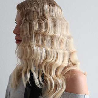 blonde curl hairstyles
